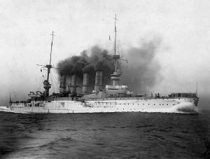 SMS Scharnhorst, von Spee's flagship